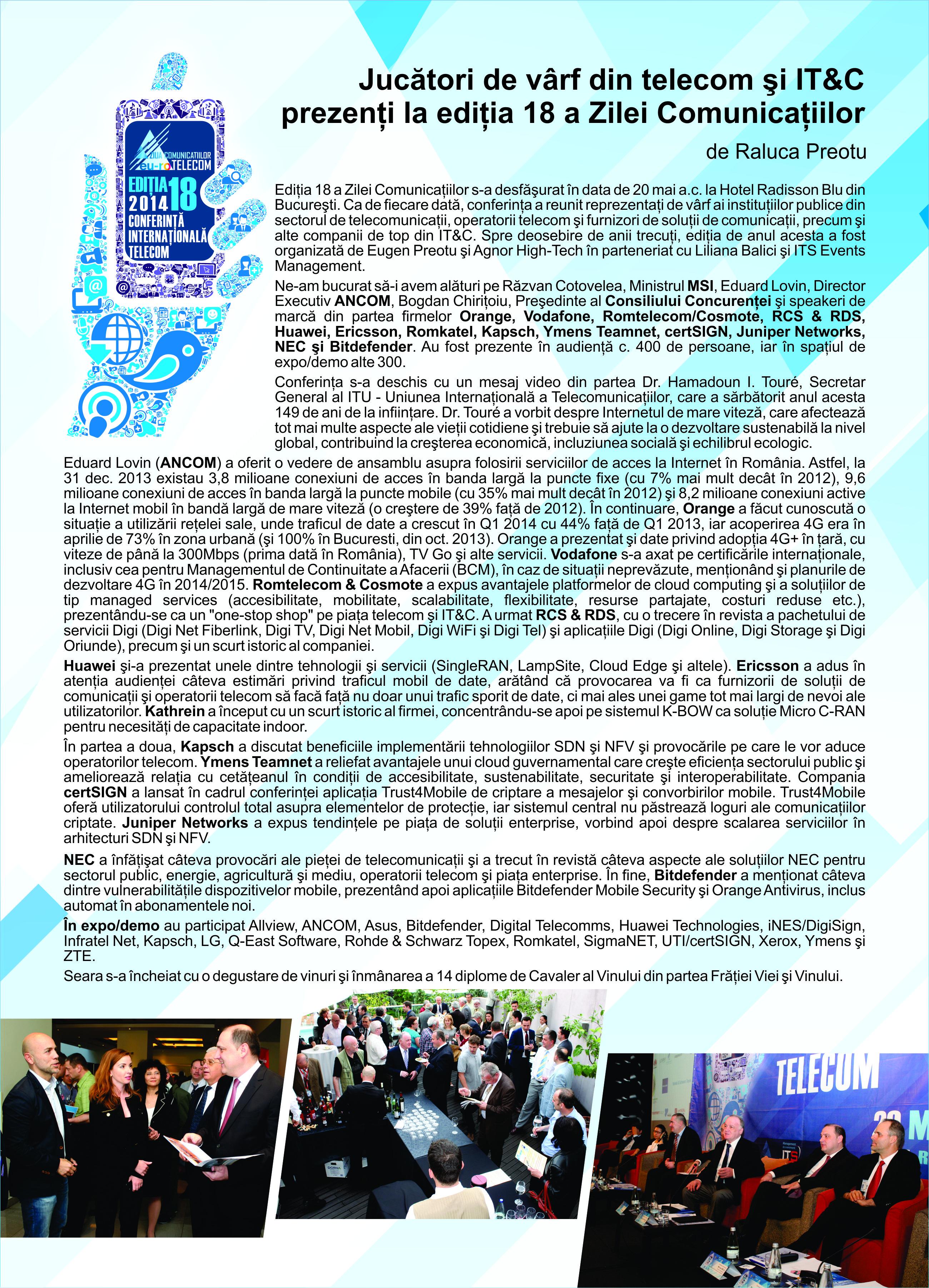 ZC TELECOM 2014
